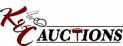 K & C Auctions logo