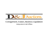 D & J Auctions logo